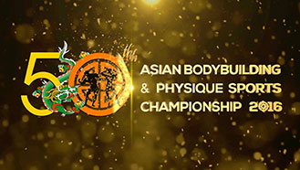 50th Asian Bodybuilding Ch. - Bhutan 2016