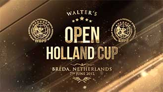 Walters Open Holland Cup June 2015