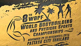 8th WBPF World Championships Pattaya - 2016